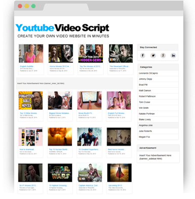 Youtube Video Script